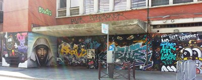 photo graffiti Lille